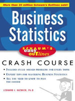 Schaum's Easy Outline of Busines Statistics - Leonard J. Kazmier