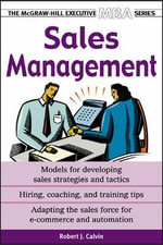Sales Management : (Revised & Updated) - Robert J. Calvin