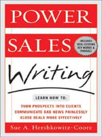 Power Sales Writing - Sue Hershkowitz-Coore