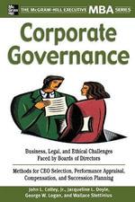 Corporate Governance - John L. Colley