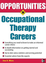 Opportunities in Occupational Therapy Careers :  Power up Your Training with Interactive Games and... - Zona R Weeks