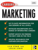 Careers in Marketing : McGraw-Hill Professional Careers (Paperback) - Leslie Stair