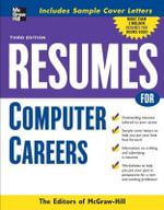 Resumes for Computer Careers - Editors of McGraw-Hill