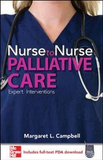 Nurse to Nurse Palliative Care - Margaret L. Campbell