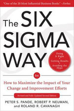 The Six Sigma Way - Peter S. Pande