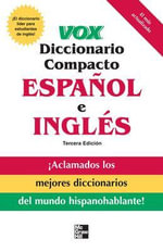Vox Diccionario Compacto Espanol E Ingles : With Notes on the Florida and Oklahoma Seminole Di... - Vox
