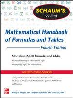 Schaum's Outline of Mathematical Handbook of Formulas and Tables : Schaum's Outline Series - Murray R. Spiegel