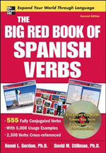 The Big Red Book of Spanish Verbs with CDROM : 2nd Edition - Ronni L. Gordon
