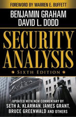 Security Analysis : Principles and Technique - Benjamin Graham