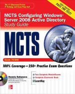 MCTS Windows Server 2008 Active Directory Services Study Guide : Exam 70-640 (set) - Dennis Suhanovs