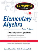 Schaum's Outline of Elementary Algebra - Barnett Rich