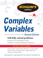 Schaum's Outline of Complex Variables, 2ed - Murray Spiegel