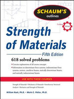 Schaum's Outline of Strength of Materials - William A. Nash