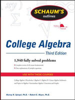 Schaum's Outline of College Algebra - Murray R. Spiegel