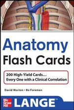 Anatomy Flashcards - David A. Morton