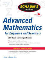 Schaum's Outline of Advanced Mathematics for Engineers and Scientists - Murray Spiegel