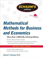 Schaum's Outline of Mathematical Methods for Business and Economics - Edward Dowling