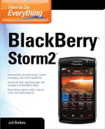 How to Do Everything Blackberry Storm 2 - Joli Ballew