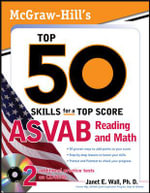 McGraw-Hill's Top 50 Reading and Math Skills for ASVAB Success : ASVAB Reading and Math - Dr. Janet E. Wall
