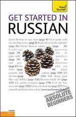 Get Started in Russian : Beginner Level 3 - Rachel Farmer