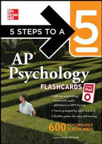 5 Steps to a 5 AP Psychology for Your iPod with MP3 Disk : 5 Steps to a 5 (Flashcards) - Laura Lincoln Maitland