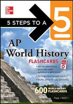 5 Steps to a 5 AP World History Flashcards for Your iPod with MP3 Disk - Peggy Martin