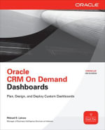 Oracle CRM on Demand Dashboards - Michael D. Lairson