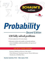 Schaum's Outline of Probability : Schaum's Outline Series - Seymour Lipschutz