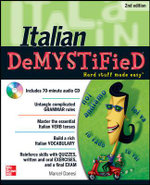 Italian Demystified 2nd Edition : The Demystified Series - Marcel Danesi