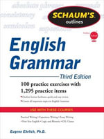 Schaum's Outline of English Grammar - Eugene Ehrlich