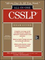 CSSLP Certification All-in-one Exam Guide - Wm. Arthur Conklin