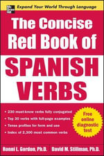 The Concise Red Book of Spanish Verbs - Ronni L. Gordon
