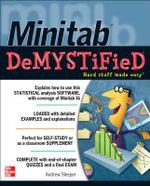 Minitab Demystified : The Demystified Series - Andrew Sleeper