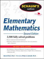 Schaums Outline of Review of Elementary Mathematics : Schaum's Outline Ser. - Barnett Rich
