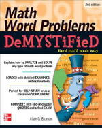 Math Word Problems Demystified : The Demystified Series - Allan G. Bluman