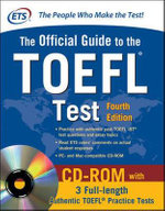 Official Guide to the TOEFL Test with CD-ROM - Educational Testing Service