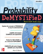 Probability Demystified : 2nd Edition : The Demystified Series - Allan G. Bluman
