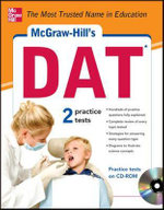McGraw-Hill's DAT with CD-ROM : 5 Steps to a 5 on the Advanced Placement Examinati... - Thomas  A. Evangelist