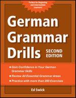 German Grammar Drills - Ed Swick