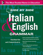 Side by Side Italian and English Grammar - Paola Nanni-Tate