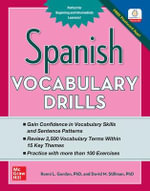 Spanish Vocabulary Drills - Ronni L. Gordon