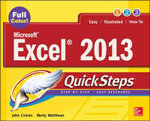 Microsoft Excel 2013 QuickSteps - Marty Matthews