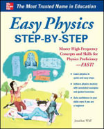 Easy Physics Step-by-Step : Easy Step-by-step Series   - Jonathan S. Wolf