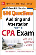 Mcgraw-Hill Education 500 Auditing and Attestation Questions for the CPA Exam - Frimette Kass-Shraibman