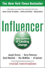 Influencer : The New Science of Leading Change - Joseph Grenny