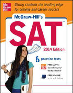 McGraw-Hill's SAT 2014 : Comprehensive Programs of Responsive Services for ... - Christopher Black