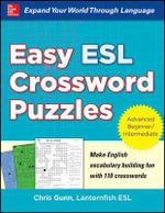 Easy ESL Crossword Puzzles - Chris Gunn