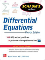 Schaum's Outline of Differential Equations : Schaum's Outline Series   - Richard Bronson