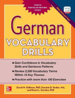 German Vocabulary Drills - David M. Stillman