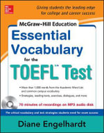 McGraw-Hill Education Essential TOEFL Vocabulary - Diane Engelhardt